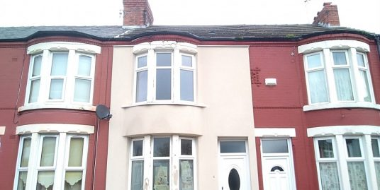 2 Bedroom Mid Terraced Property – Corbyn Street, CH44