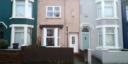 3 Bedroom Mid Terraced Property – Gonville Road, L20